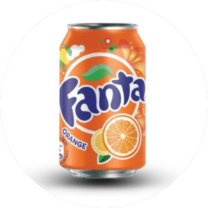 Le take away pizzas à emporter Ploufragan (22) canette de fanta orange 33cl