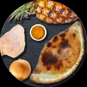Le Take Away pizzas à emporter à Ploufragan (22) pizza calzone exotique