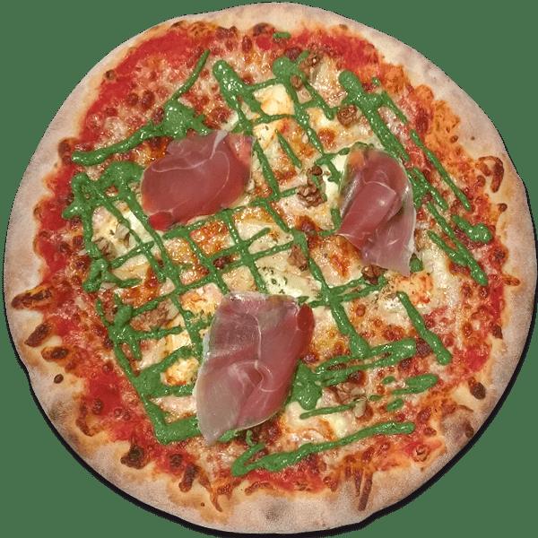 La pizza du mois proposée par le Take Away, pizzas artisanales à emporter à Ploufragan (22).