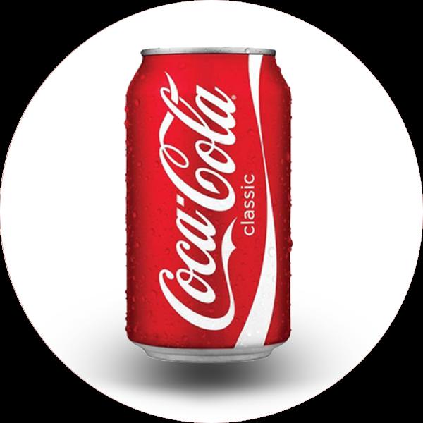 Le take away pizzas à emporter Ploufragan (22) canette de Coca Cola 33cl