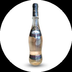 Le take away pizzas à emporter Ploufragan (22) bouteille de vin rosé cuvée du golf de Saint Tropez