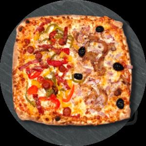 La pizz'apéro proposée par le Take Away, pizzas artisanales à emporter à Ploufragan (22).